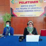 Pelatihan Service Quality Bagi Pegawai Poltekkes Bengkulu